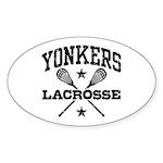 Yonkers Lacrosse Sticker (Oval)