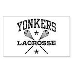 Yonkers Lacrosse Sticker (Rectangle)