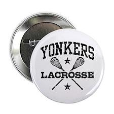 "Yonkers Lacrosse 2.25"" Button"