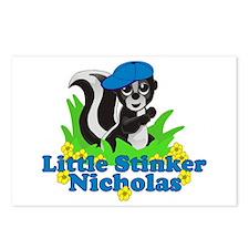 Little Stinker Nicholas Postcards (Package of 8)