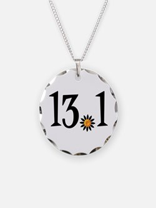 13.1 with orange flower Necklace