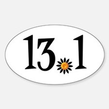 13.1 with orange flower Decal