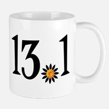 13.1 with orange flower Mug