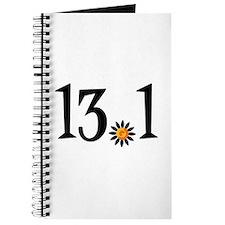 13.1 with orange flower Journal