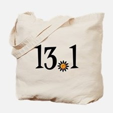 13.1 with orange flower Tote Bag