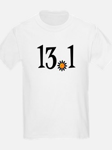 13.1 with orange flower T-Shirt