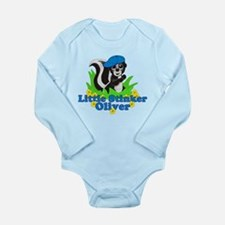 Little Stinker Oliver Long Sleeve Infant Bodysuit