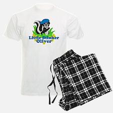 Little Stinker Oliver pajamas