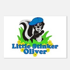 Little Stinker Oliver Postcards (Package of 8)