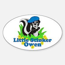 Little Stinker Owen Decal