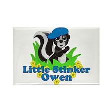 Little Stinker Owen Rectangle Magnet