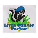 Little Stinker Parker Throw Blanket