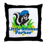Little Stinker Parker Throw Pillow