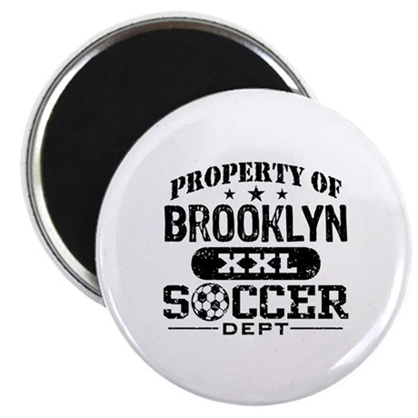 Brooklyn Soccer Magnet