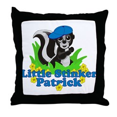 Little Stinker Patrick Throw Pillow