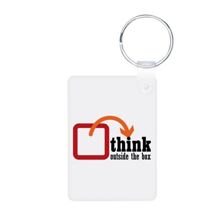 Think Aluminum Photo Keychain
