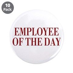 "Employee 3.5"" Button (10 pack)"