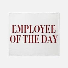 Employee Throw Blanket