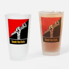Cute Anarchy Drinking Glass