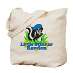 Little Stinker Randon Tote Bag