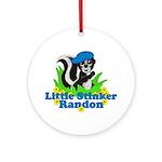Little Stinker Randon Ornament (Round)