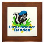 Little Stinker Randon Framed Tile