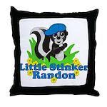 Little Stinker Randon Throw Pillow