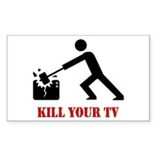 Kill Your Television Decal