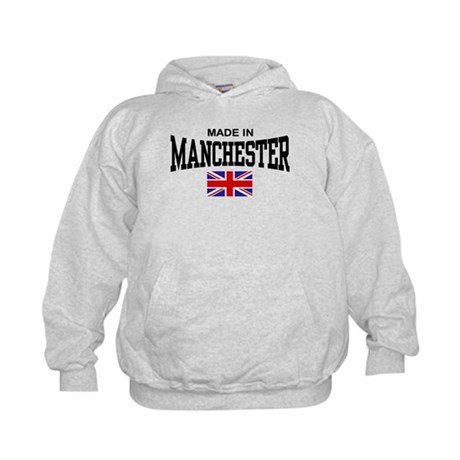 Made In Manchester Kids Hoodie