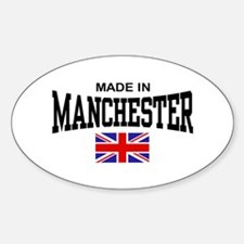 Made In Manchester Decal