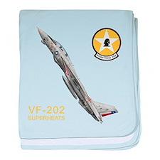 VF-202 Superheats baby blanket