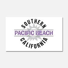 Pacific Beach California Car Magnet 20 x 12