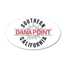 Dana Point California 22x14 Oval Wall Peel
