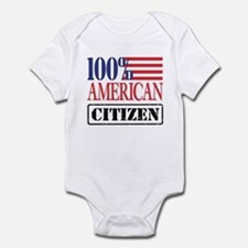 100% American Citizen Infant Creeper