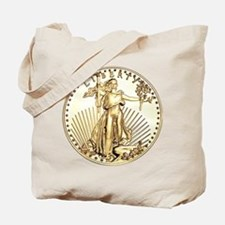 The Liberty Gold Coin Tote Bag