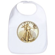The Liberty Gold Coin Bib