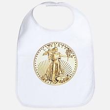 The Liberty Gold Coin Bib