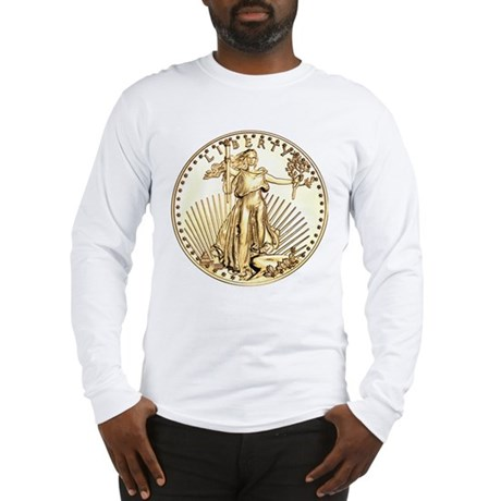 The Liberty Gold Coin Long Sleeve T-Shirt
