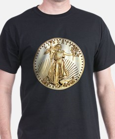 The Liberty Gold Coin T-Shirt