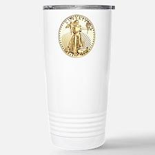 The Liberty Gold Coin Travel Mug