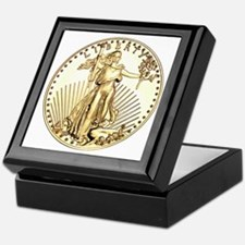 The Liberty Gold Coin Keepsake Box