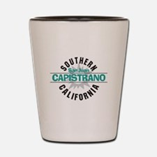 San Juan Capistrano CA Shot Glass