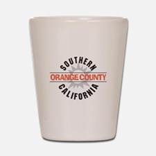 Orange County California Shot Glass
