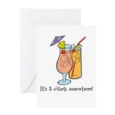 Unique Cocktail party Greeting Card