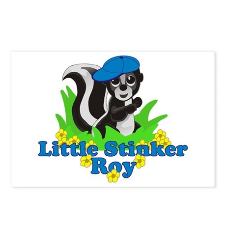 Little Stinker Roy Postcards (Package of 8)