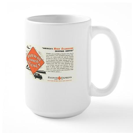 Railway Express Agency 1948 Large Mug