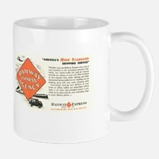 Railway Express Agency 1948 Mug