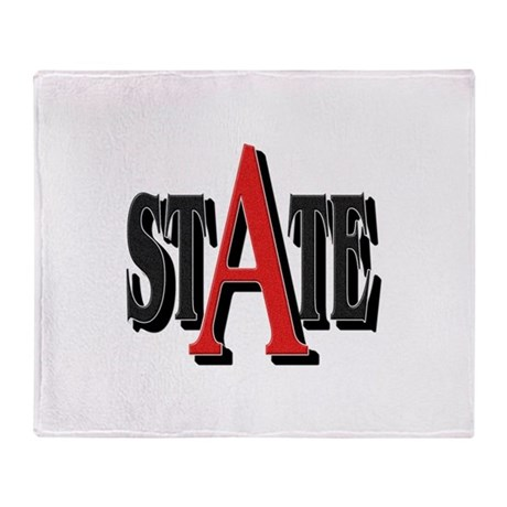 A State Throw Blanket