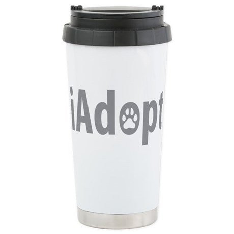 iAdopt Stainless Steel Travel Mug