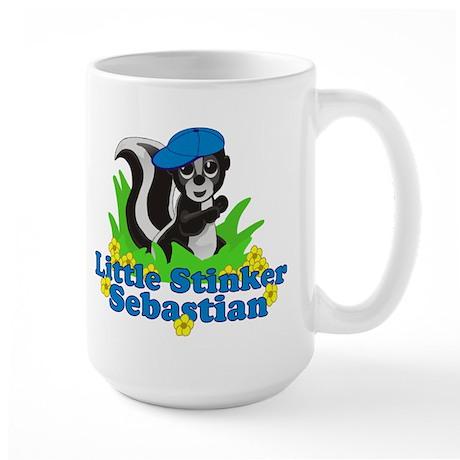 Little Stinker Sebastian Large Mug